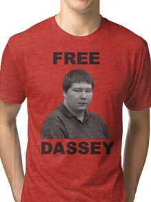 FREE BRENDAN DASSEY Tri-blend T-Shirt
