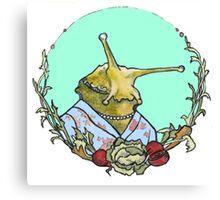 Classy Slug Canvas Print