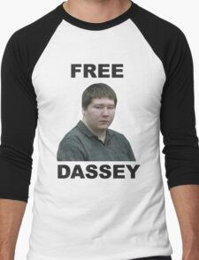 FREE BRENDAN DASSEY Men's Baseball ¾ T-Shirt