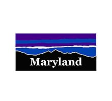 Maryland Midnight Mountains Photographic Print