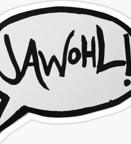 JAWOHL! Sticker