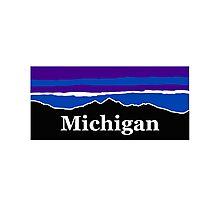 Michigan Midnight Mountains Photographic Print