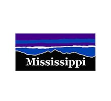 Mississippi Midnight Mountains Photographic Print