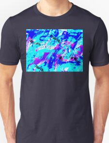 Ocean Abstract - Swimming Against the Tide T-Shirt