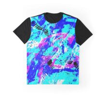Ocean Abstract - Swimming Against the Tide Graphic T-Shirt