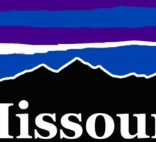 Missouri Midnight Mountains Sticker