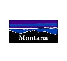 Montana Midnight Mountains Photographic Print