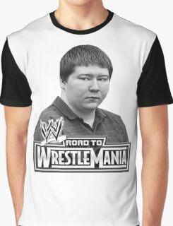 FREE BRENDAN DASSEY wrestle mania Graphic T-Shirt