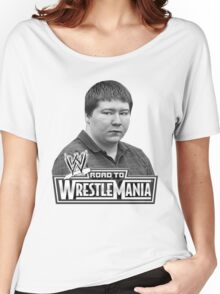 FREE BRENDAN DASSEY wrestle mania Women's Relaxed Fit T-Shirt