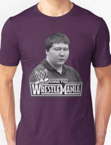 FREE BRENDAN DASSEY wrestle mania Unisex T-Shirt