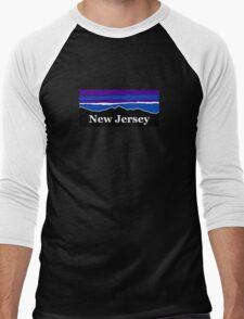 New Jersey Midnight Mountains Men's Baseball ¾ T-Shirt
