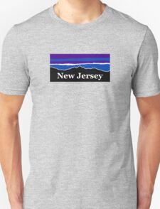 New Jersey Midnight Mountains Unisex T-Shirt