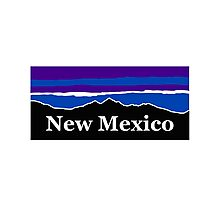 New Mexico Midnight Mountains Photographic Print
