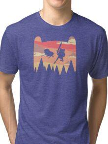 Adventure Time water colour Tri-blend T-Shirt