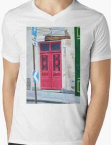 Shabby Chic. Mens V-Neck T-Shirt