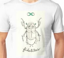 Fidelitas, Beetle of Loyalty Unisex T-Shirt