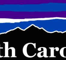 North Carolina Midnight Mountains Sticker