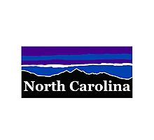 North Carolina Midnight Mountains Photographic Print