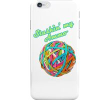 Ammo Stash Rubberband Ball Funnies iPhone Case/Skin