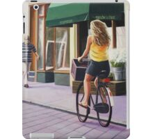 Off to the shops iPad Case/Skin
