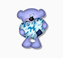 blue camo heart bear Unisex T-Shirt