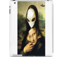 Monalisa Alien iPad Case/Skin
