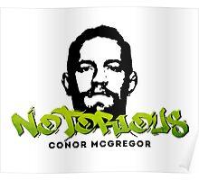 Conor McGregor Graffiti 04 Poster