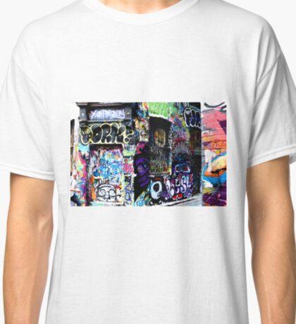 Hosier Lane Graffiti 2  Classic T-Shirt