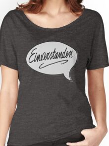 EINVERSTANDEN Women's Relaxed Fit T-Shirt