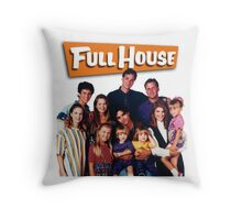 Full House Throw Pillow