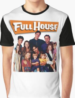 Full House Graphic T-Shirt