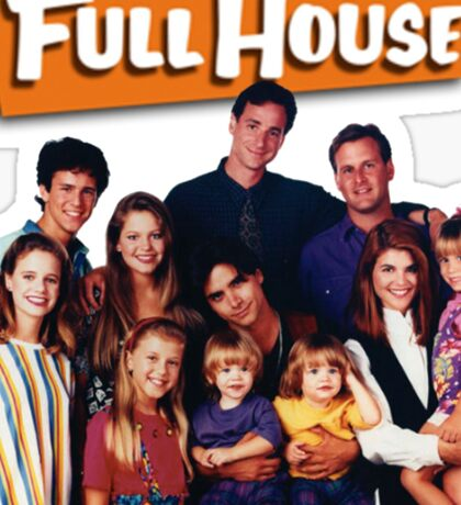 Full House Sticker