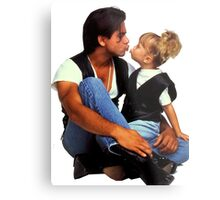Uncle Jesse and Michelle Tanner Metal Print