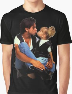 Uncle Jesse and Michelle Tanner Graphic T-Shirt