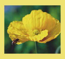 Yellow Poppy in February 2 One Piece - Short Sleeve