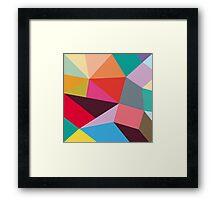 new geometry Framed Print