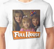 DJ, Michelle and Stephanie - Full House Unisex T-Shirt
