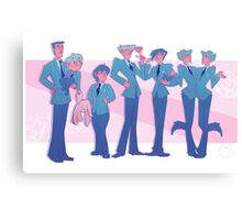 Ouran High Shool Line Up Canvas Print