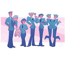 Ouran High Shool Line Up Photographic Print