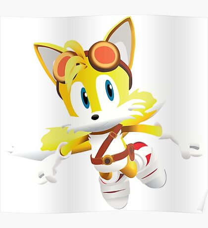Tails - Sonic Boom Poster