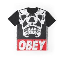 OBEY THE MASTER Graphic T-Shirt