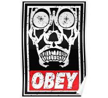 OBEY THE MASTER Poster