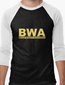 BWA Bread Winners Association  Men's Baseball ¾ T-Shirt