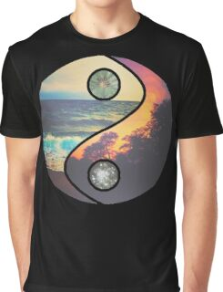 "CHILL VIBES ""YANG"" Graphic T-Shirt"