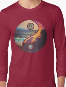 "CHILL VIBES ""YANG"" Long Sleeve T-Shirt"