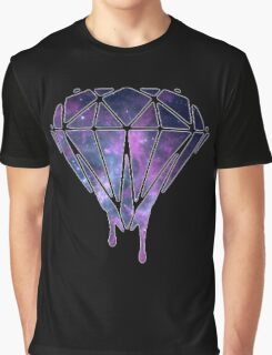 "DIAMOND ""TRIPPY ED."" Graphic T-Shirt"