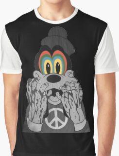 Trippy Goofy Graphic T-Shirt