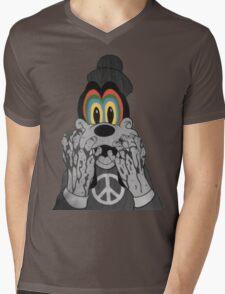 Trippy Goofy Mens V-Neck T-Shirt