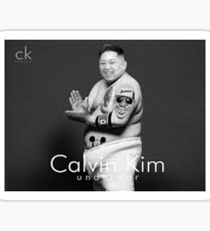 Justin Bieber Calvin Klein Shoot Funny Sticker