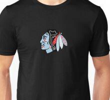 Blackhawks Logo - Chicago Theme Unisex T-Shirt